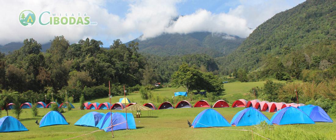 paket camping wisata cibodas